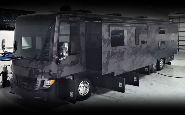 RV's ceramic coating protection - DNA Surface Concepts